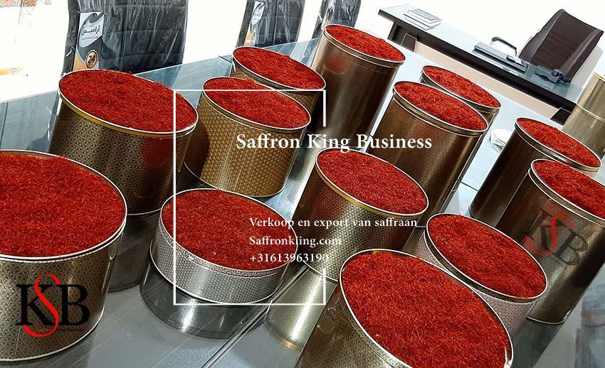 صادرات زعفران ایرانی به اروپا