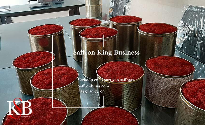 بزرگترین صادر کنندگان زعفران